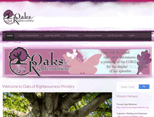 Tablet Preview of oaksofrighteousness.info